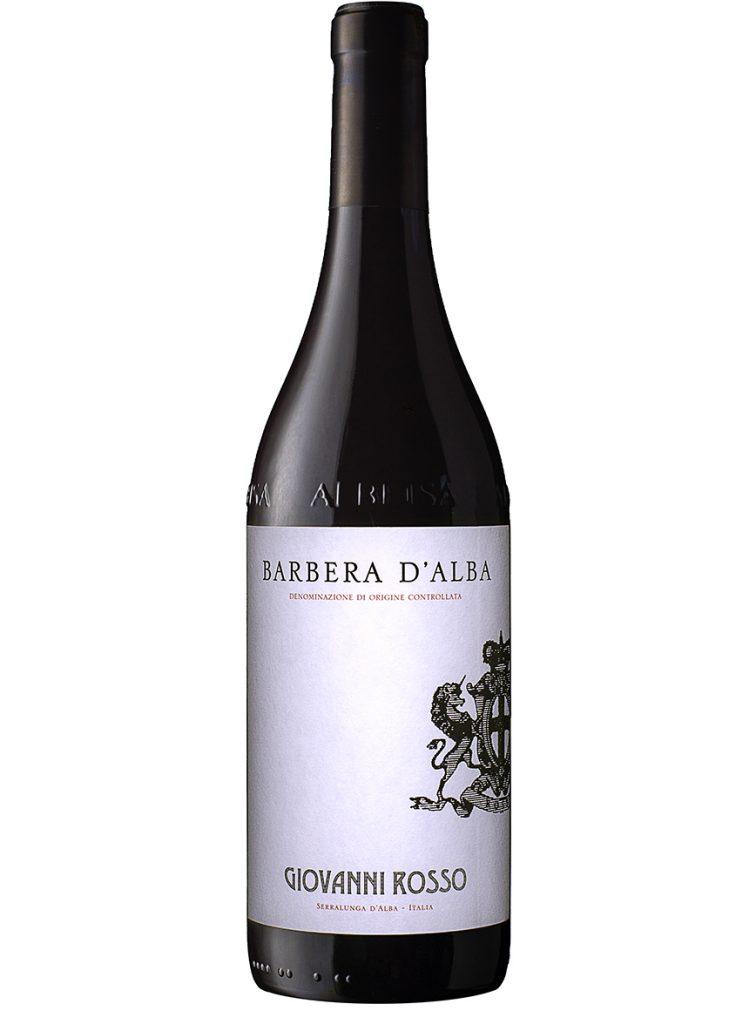 vino barbera d'alba giovanni rosso