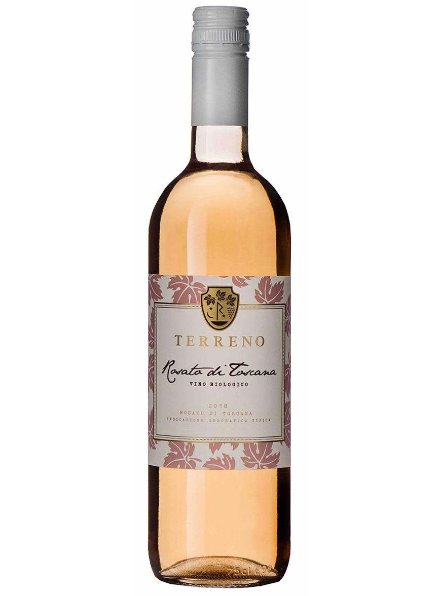 vino rosato di toscana terreno