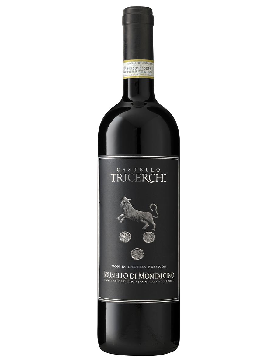 vino brunello montalcino tricerchi