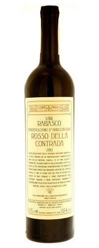 vino rosso abruzzese Montepulciano Rosso della Contrada Rabasco