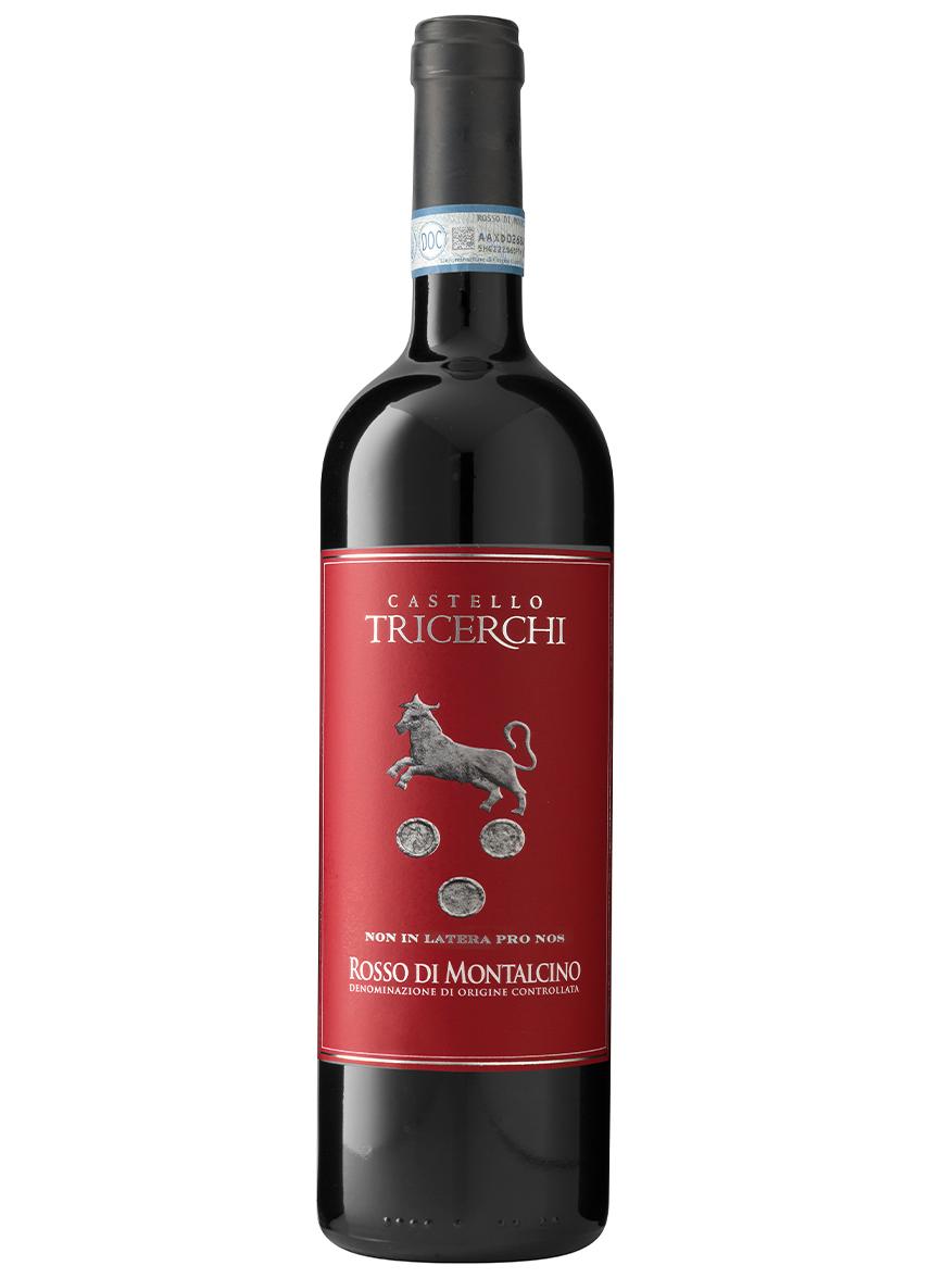 vino rosso di montalcino tricerchi