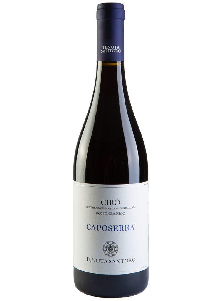vino cirò tenuta santoro caposerra