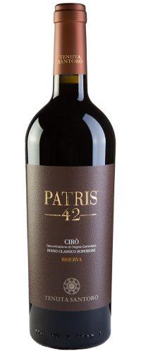 vino cirò doc Patris 42 tenuta santoro