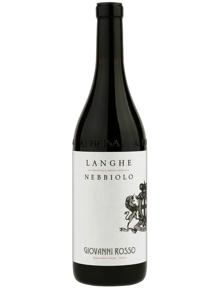 vino langhe nebbiolo rosso